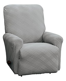 Stretch Sensations Double Diamond Recliner Cover