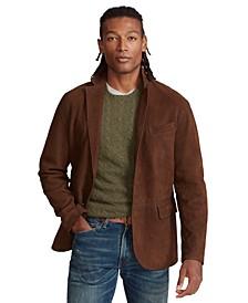 Men's Suede Sport Coat