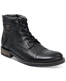Men's Jack Cap Toe Boots, Created for Macy's