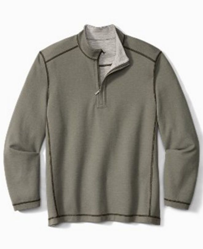 Tommy Bahama Men's Switch It Up Half-Zip Shirt