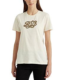 Lauren Ralph Lauren Logo Cotton-Modal T-Shirt