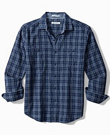 Men's Double Indigo Plaid Shirt