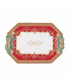 Yuletide Holiday Serving Platter