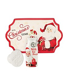 Lettrs To Santa Milk And Cookies 3Pc