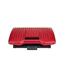 Adjustable Height Foot Rest with Rollers for Massage
