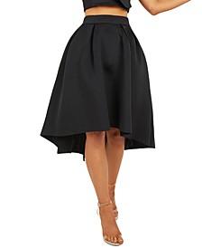 Dip-Hem Skirt
