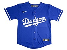 Los Angeles Dodgers Kids Official Blank Jersey