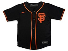 San Francisco Giants Kids Official Blank Jersey
