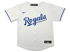 Kansas City Royals Kids Official Blank Jersey