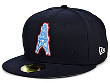Houston Oilers Team Basic 59FIFTY Cap