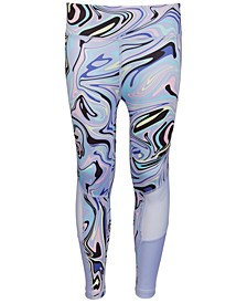 Big Girls Vortex Printed Leggings, Created for Macy's