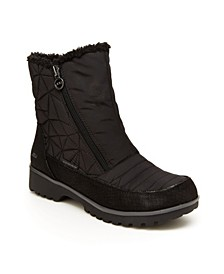 Women's Snowflake Water-Resistant Ankle Boot