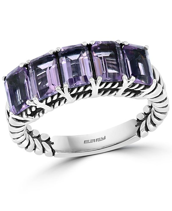 EFFY Collection EFFY® Amethyst Statement Ring (2-7/8 ct. t.w.) in Sterling Silver