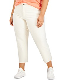 Plus Size Colored Mom Jeans, Created for Macy's