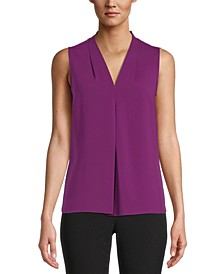 Seamed V-Neck Blouse, Created for Macy's