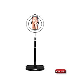 "On Air HALO Travel Pro Compact Portable 10"" Professional Ring Light by Tzumi"