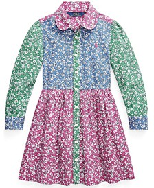 Toddler Girl Fun Fit-and-Flare Shirtdress