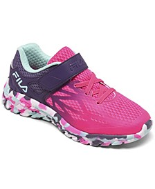 Little Girls Speedstride 20 Stay-Put Closure Running Sneakers from Finish Line