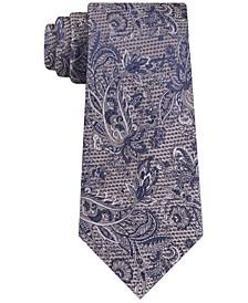 Men's Textural Luxe Paisley Tie