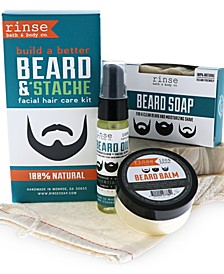 Beard & Stache Kit