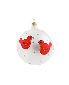 Ornaments Red Birds Ornament