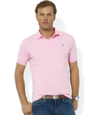 Polo Ralph Lauren. Men\u0027s Classic Fit Cotton Mesh Polo. 509 reviews. main  image