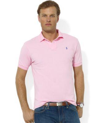 Polo Ralph Lauren. Men\u0027s Classic Fit Cotton Mesh Polo. 509 reviews. main  image