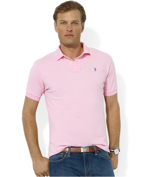 d12135bbc Polo Ralph Lauren Men's Classic Fit Cotton Mesh Polo & Reviews ...