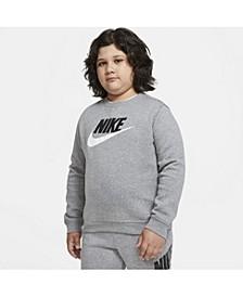Big Boys Sportswear Club Fleece Crew (Extended Size)