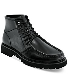 INC Men's AXEL Chunky Boots, Created for Macy's