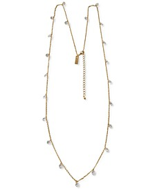 "INC Shaky Stone Long Strand Necklace, 36"" + 3"" extender, Created for Macy's"