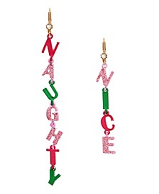 Naughty Nice Mismatched Earrings