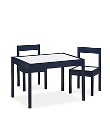 Percy 3-Piece Kiddy Table and Chair Set