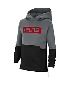Big Boys Thermal Elite Pullover Basketball Hoodie