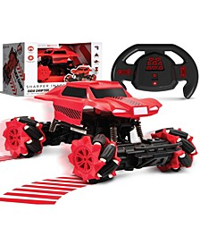 Toy Remote Control Side Drifter Monster Truck