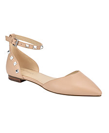 Marc Fisher Abbale Pointy Toe Dress Flat Shoes