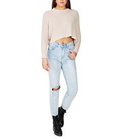 Women's Archy Cropped Pullover Sweater