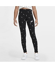 Sportswear Big Girl's Printed Leggings