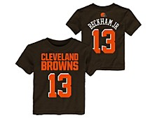 Toddler Cleveland Browns Mainliner Player T-Shirt - Odell Beckham Jr.