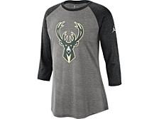 Milwaukee Bucks Women's Three Quarter Statement Raglan Shirt