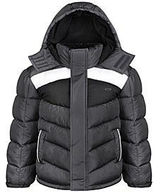 Big Boys Diamond-Quilted Puffer Coat
