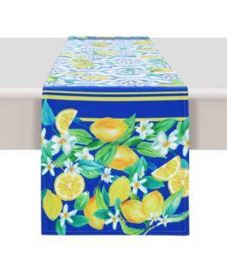 Lovely Lemons 13x90 Table Runner