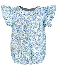 Baby Girls Ruffled Cotton Bodysuit, Created for Macy's