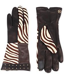 Zebra Patchwork Gloves