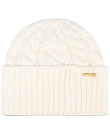 Women's Super Cable Cuff Beanie Hat