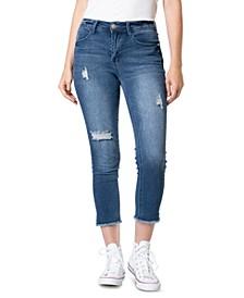 Juniors' Slim Straight-Leg Jeans