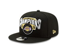 Los Angeles Lakers NBA Locker Room Finals Champ 9FIFTY Cap