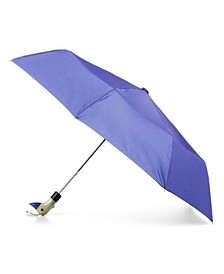 Wooden Duck Handle Auto Open Umbrella