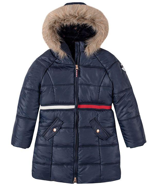 Tommy Hilfiger Big Girls Long Puffer Jacket