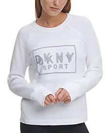 Sport Illusion Mesh Logo Sweatshirt